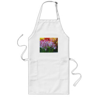 Painted Tulips-Street Market Long Apron