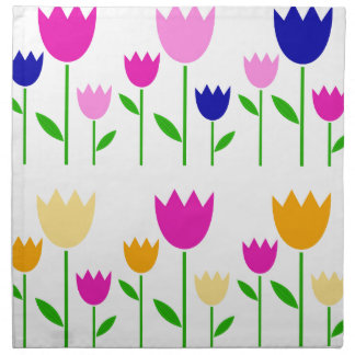 Painted Tulips summer Collection Napkin
