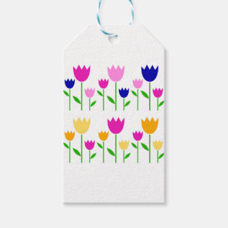 Painted Tulips summer Collection Pack Of Gift Tags