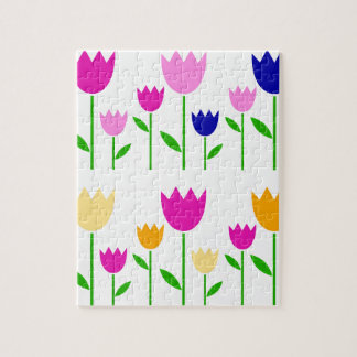 Painted Tulips summer Collection Puzzles