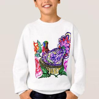 Painted Turkey Bird Sweatshirt