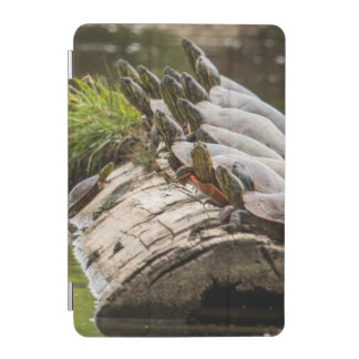 Painted Turtles Sunning Themselves In A Pond iPad Mini Cover