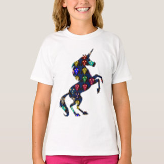 Painted UNICORN horse fairy tale  fashion shopping T-Shirt