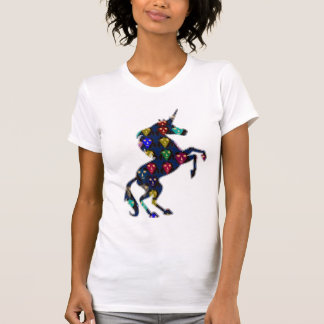 Painted UNICORN horse fairy tale  fashion shopping T-Shirt