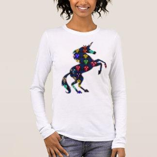 Painted UNICORN horse fairytale navinJOSHI NVN100 Long Sleeve T-Shirt