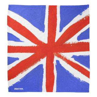 Painted Union Jack Bandana by John Dyer