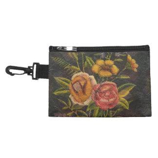 Painted Vintage Flowers Rose Accessories Bags