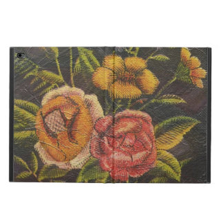 Painted Vintage Flowers Rose Powis iPad Air 2 Case