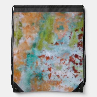 Painted Wall | Fort Hayden, WA Drawstring Bag
