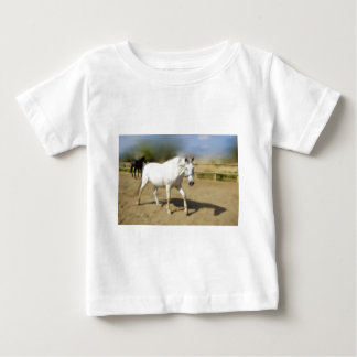 PAINTED WHITE HORSE T-SHIRTS