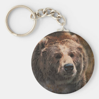 PaintedGrizzly Keychain