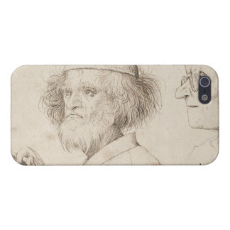 Painter and Connoisseur by Pieter Bruegel iPhone 5/5S Cases