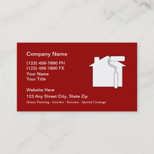 Painter business cards profile cards zazzle ca painter business cards colourmoves