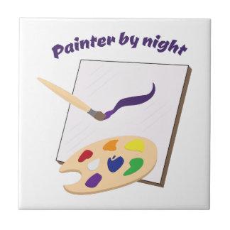 Painter By Night Ceramic Tiles