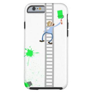 Painter Green Splatter iPhone Case