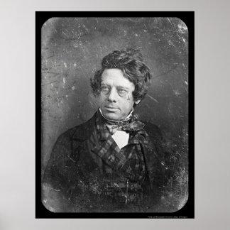 Painter H Inman Daguerreotype 1844 Poster