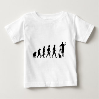 Painter paperhanger craftsman Anstreicher color Baby T-Shirt