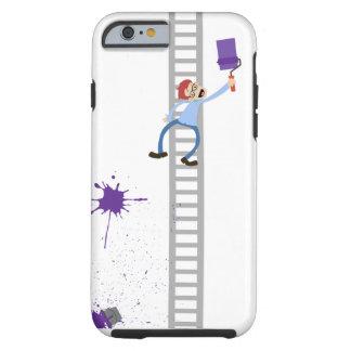 Painter Purple Splatter iPhone Case