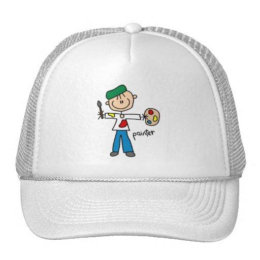 Painter Stick Figure Trucker Hat