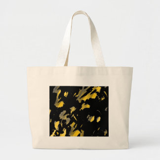 Painter was here - yellow large tote bag