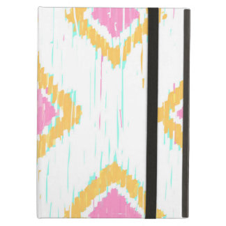 Painterly Ikat Pattern iPad Air Folio Case by KCS
