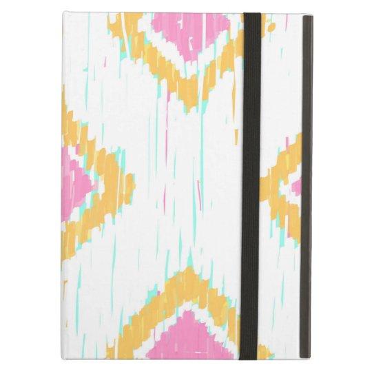 Painterly Ikat Pattern iPad Air Folio Case by KCS
