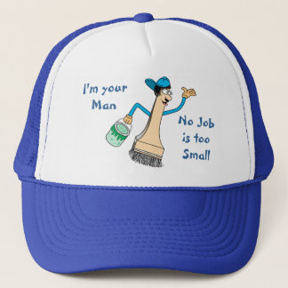 Painter's Baseball Cap Template
