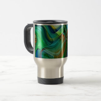 Painters Brushstroke Travel Mug