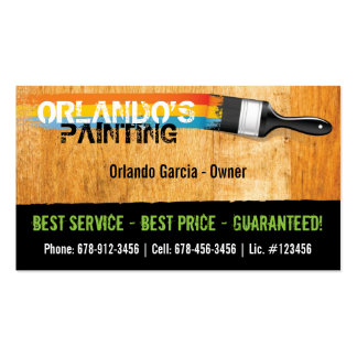 Painter's Business Card