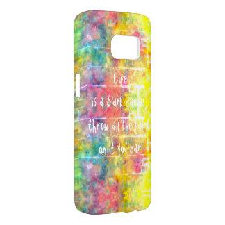 [Painter's Cloth]  Distressed Rainbow Tie-Dye Samsung Galaxy S7 Case