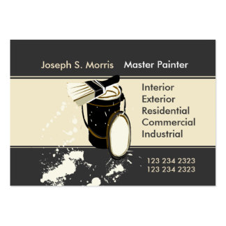 Painters Painting Services Home Improvement Pack Of Chubby Business Cards