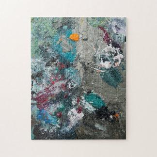 Painter's palette jigsaw puzzle