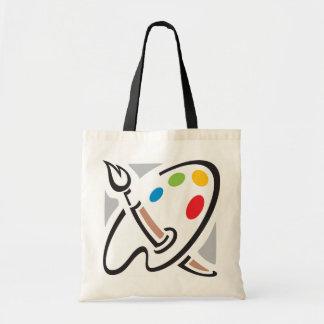 Painters Palette Tote Bag