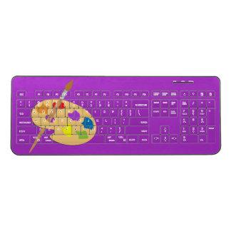 Painters Palette Wireless Keyboard