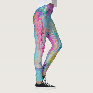 Painter's Pants 2 Bold Pop Fashion Leggings