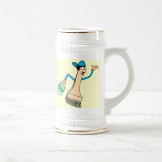 Painter's Stein Mug Template