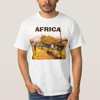 PAINTING 122 copy, AFRICA T-Shirt