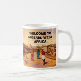 PAINTING 8bb, PAINTING 8bb, WELCOME TO NIGERIA,... Coffee Mug