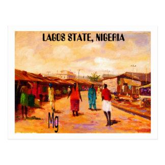 PAINTING 9 copy, LAGOS STATE, NIGERIA Postcard