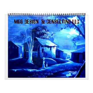 PAINTING 9 copy, MGG DESIGN  & CONSULTING LLC  ... Calendars