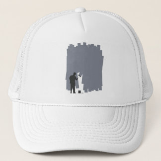 Painting a Wall Trucker Hat
