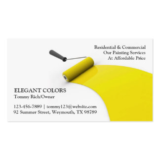 Painting Contractor Business Cards, 412 Business Card Templates
