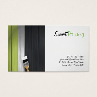 painting business card