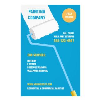 Painting Company insecte d entrepreneur Prospectus Personnalisés