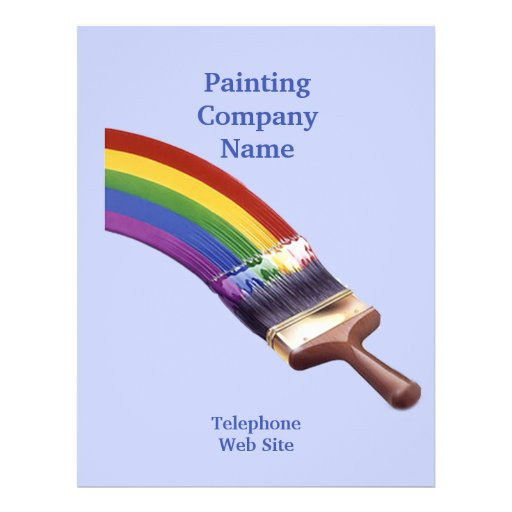 Painting Contractor Business Flyer