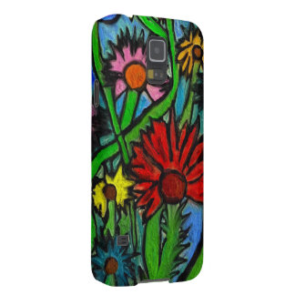 Painting Flowers Through Autistic Eyes Cases For Galaxy S5