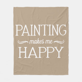 Painting Happy Blanket - Assorted Sizes & Colors