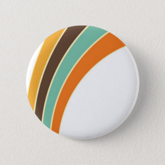 Painting in retro colors 2 inch round button
