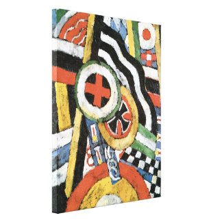 Painting Number 5 Gallery Wrap Canvas