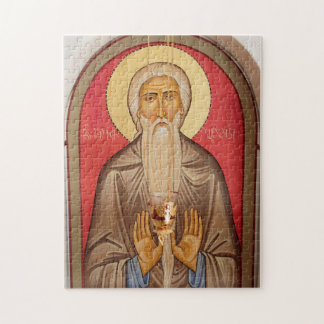 Painting Of An Elderly Saint Jigsaw Puzzle